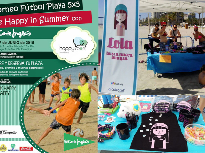 Torneo Fútbol Playa Be Happy in summer