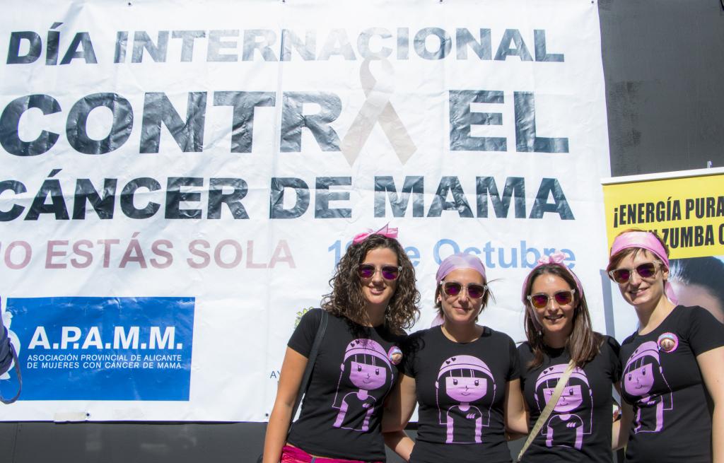 Bloguera dia internacional del cancer de mama Alicante
