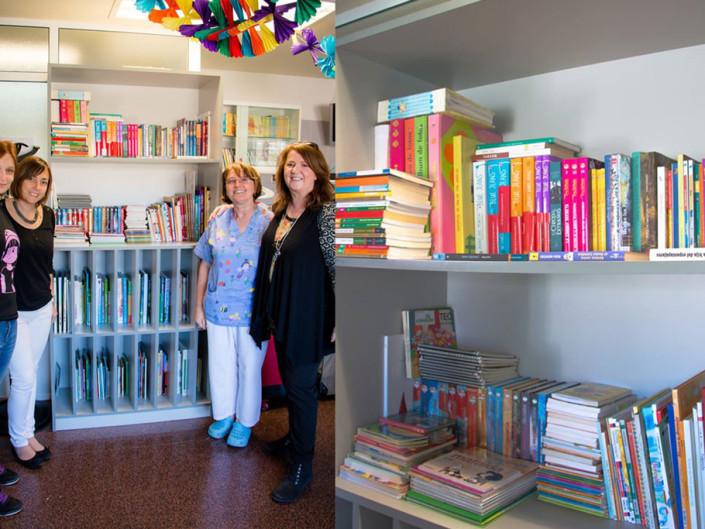 Reparto de Libros Hospital de día de oncología infantil de Alicante