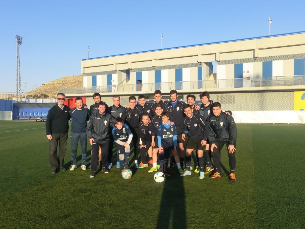 foto Tony con el Alicante CF (1)