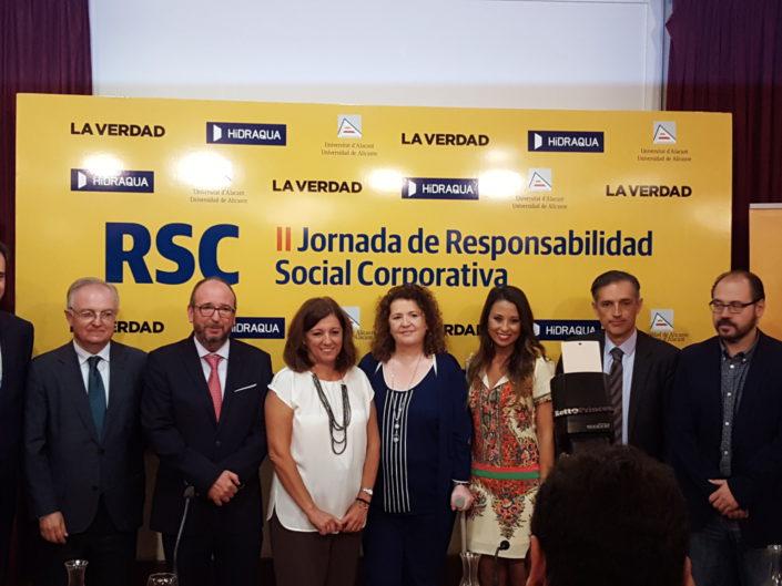 Segundas jornadas de Responsabilidad social corporativa.